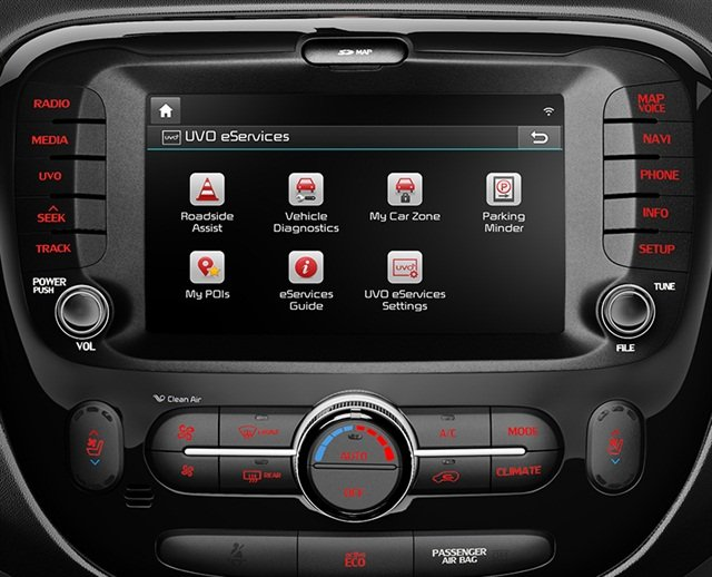 When renters connect their smartphones to the rental car's infotainment system, it stores their phone numbers and call logs. Photo via Wikimedia.