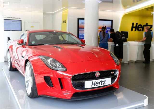 The 2014 Jaguar F-TYPE Coupe. Photo credit: The Hertz Corp.