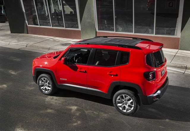 Jeep's 2016 Renegade. Photo courtesy of Fiat Chrysler Automobiles.