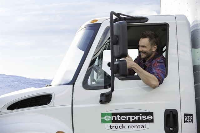 A clip of Enterprise Rent-A-Car's new television commercial featuring comedian Joel McHale. Photo courtesy of Enterprise Holdings.