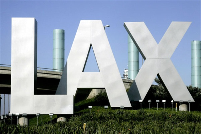 The sign at Los Angeles International Airport. Photo via Wikimedia.