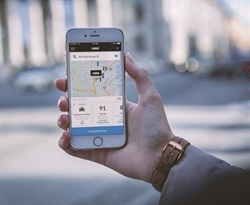 The Luxe mobile app. Photo courtesy of Luxe.