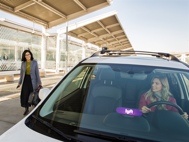 Lyft has committed to making all rides through the app carbon neutral through a multi-million dollar investment in emission reduction programs. Photo courtesy of Lyft.