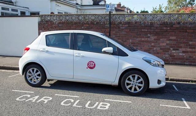 A City Car Club vehicle. Photo courtesy of Enterprise Holdings.