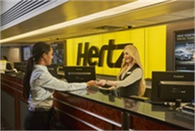 Photo courtesy of Hertz.