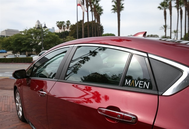 GM's carsharing program Maven has launched in Canada. Photo courtesy of GM