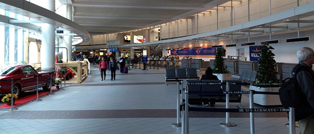 Manchester-Boston Regional Airport. Photo via Wikimedia.