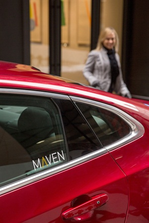 GM's Maven+ Carsharing Expands in New York