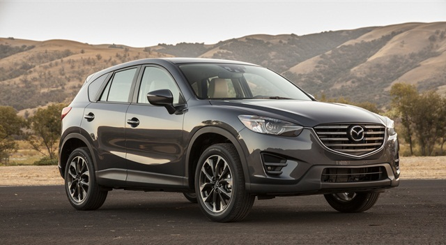 Mazda is recalling its CX-5 SUVs in 2014-2016 model years so dealers can address a fire risk associated with the fuel filler pipe. Photo courtesy of Mazda.