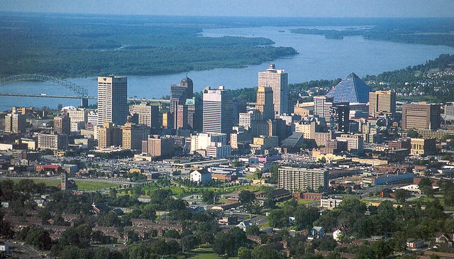 View of Memphis, Tenn. Photo via Wikimedia.
