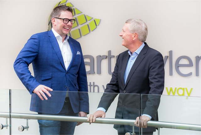 Mike McGearty, CarTrawler's chief executive (left), is pictured with Mark Schwab, CarTrawler's new senior advisor. Photo courtesy of CarTrawler.