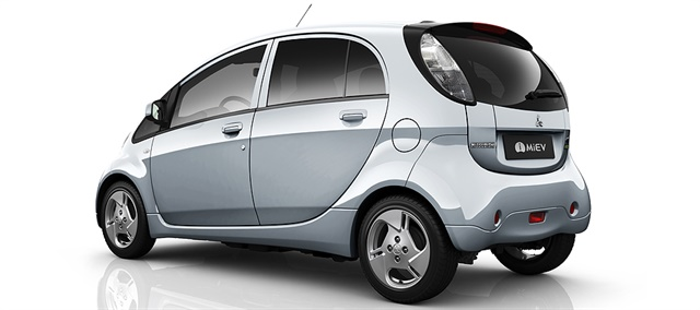 Romania's carsharing service will use electric Mitsubishi iMiev vehicles. Photo courtesy of Mitsubishi.
