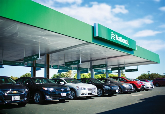 Participating in the Emerald Reserve service is one way to earn points in National's Rent Rent Reward promotion. Photo courtesy of National Car Rental.