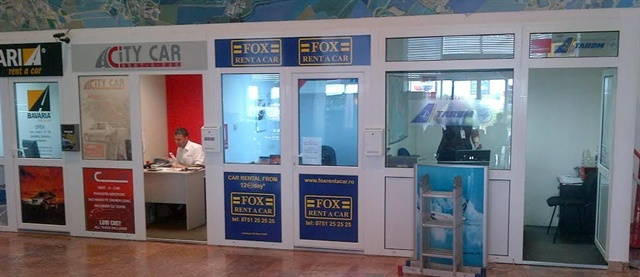 Fox Rent A Car's affiliate location at Turkey's Istanbul Airport. Photo courtesy of Fox Rent A Car.