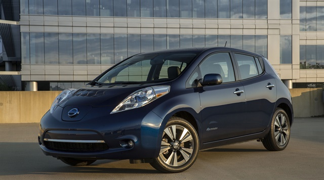 Chattanooga's new electric carsharing service will consist of Nissan Leafs. Photo courtesy of Nissan.