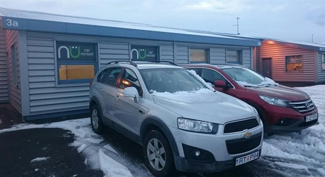 NU Car Rental location at the Reykjavik Airport in Iceland is one of 40 new locations that opened in 2015. This affiliate location is operated by Hasso Car Rentals. Photo courtesy of NU Car Rentals.