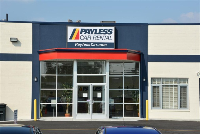 Photo credit: Payless Car Rental, serving Philadelphia International Airport.