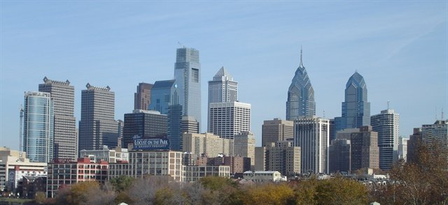 Philadelphia has been named the most expensive U.S. city for rental rates, according to a CheapCarRental.net survey. Photo via Wikimedia.