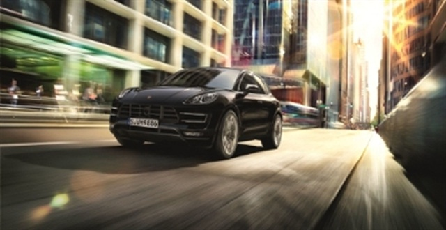 Hertz has added the Porsche Macan Turbo to its Dream Cars collection. Photo courtesy of The Hertz Corp.