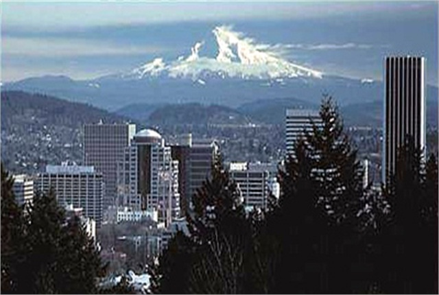 Portland has been named the most expensive U.S. city for car rental this summer. Photo via Wikimedia.