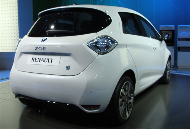 The Renault ZOE is one of the vehicles available in the electric carsharing fleet. Photo via Wikimedia.