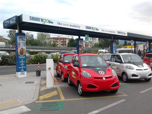 Italy's ShareNGo is now using Rent Centric's car-sharing platform.