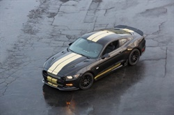 The2016 Ford Shelby GT-H Mustang is now available to rent at select Hertz locations this summer. Photo courtesy of The Hertz Corp.