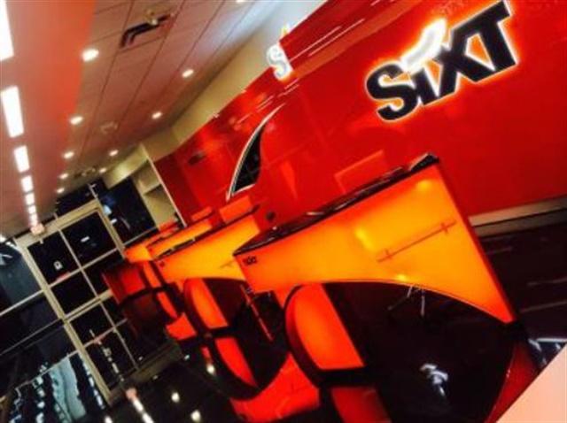 Photo courtesy of Sixt