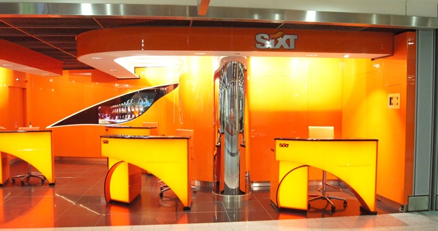 Photo courtesy of Sixt