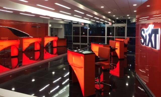 Sixt's new location at Dallas/Fort Worth International Airport. Photo courtesy of Sixt.