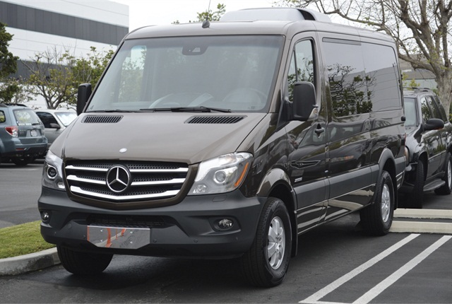 Action Car Rental is now offering the Mercedes-Benz Sprinter van. Photo courtesy of Vincent Taroc.