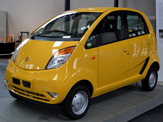 Zoomcar, a carsharing company in India, has added 50 Tato Nano vehicles to its fleet. Photo via Wikimedia.
