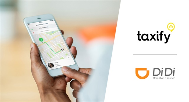 Photo courtesy of Taxify and Didi Chuxing