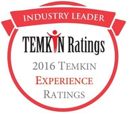 Enterprise Rent-A-Car and National Car Rental tied for the highest customer experience score in the 2016 Temkin Experience Ratings.