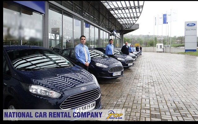 Top Rent-A-Car has added new vehicles from Renault-Nissan group and Ford Bulgaria. Photo credit: Top Rent-A-Car