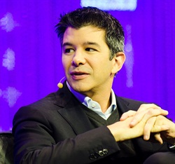 Travis Kalanick, CEO of Uber Technologies Inc. Photo via Wikimedia.