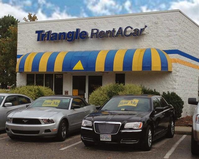 Photo via Triangle Rent A Car.