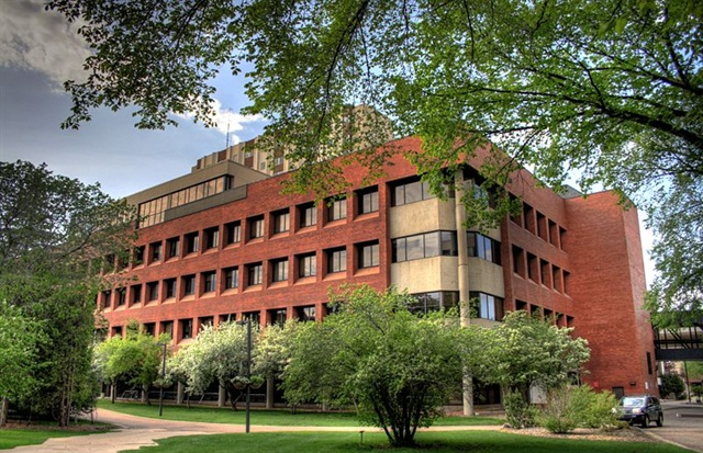 A building at the University of Alberta. Photo via Wikimedia.