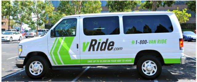Enterprise Holdings has acquired vRide, a vanpooling company. Photo courtesy of Enterprise Holdings.