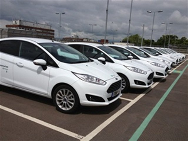 York Hospital's Enterprise CarShare vehicles. Photo via Enterprise Holdings.