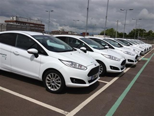 York Hospital's Enterprise CarShare vehicles. Photo via Enterprise Holdings.