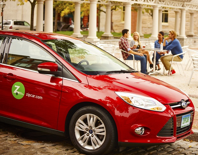 Zipcar is an example of a U.S. car-sharing program. Photo courtesy of Zipcar.
