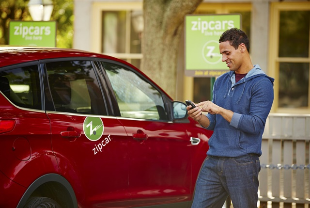 The study's data was collected using Zipcar.com's reservation portal. Photo courtesy of Zipcar.