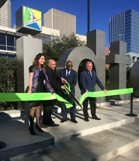 Zipcar has added four carsharing vehicles to Houston's Midtown district. Photo courtesy of Zipcar