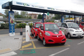 Rent Centric Powers ShareNGo's Car Sharing