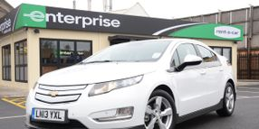 Enterprise Now Offers Chevy Volts to UK Renters
