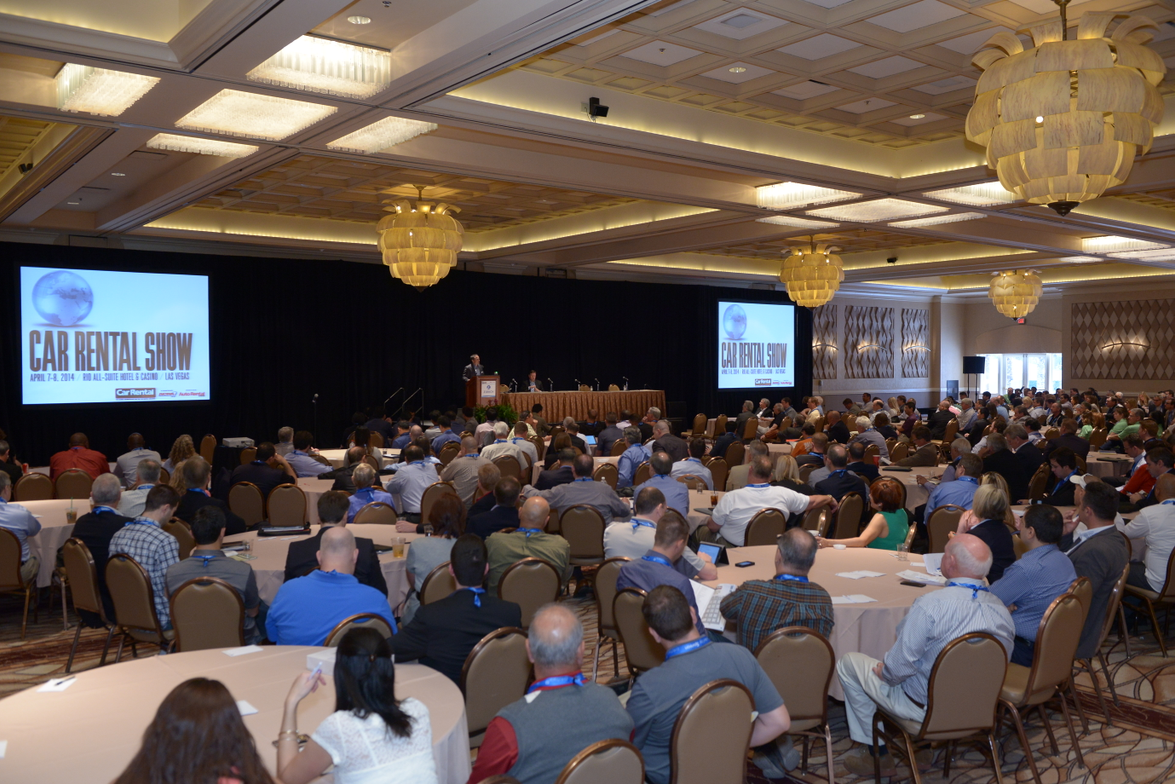 More than 800 attendees gathered for the 2014 Car Rental Show.