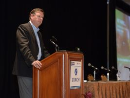 Patrick Farrell, chief marketing and communications officer for Enterprise Holdings, presented...