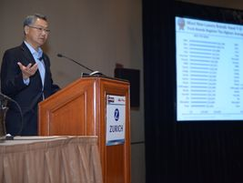 Eric Ibara, director of residual values for Kelley Blue Book, gave a presentation discussing how...