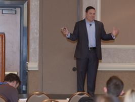 """In the seminar """"Five Signs of a Healthy Sales Culture,"""" Ken Stellon of Frontline Performance..."""